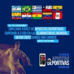 """Vuelve el """"Podio de Jugadon"""": apostá a las Eliminatorias Sudamericanas y sumás chances para el sorteo"""