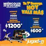 """Promo en Jugadon: este miércoles, la recarga """"Vale Más"""""""